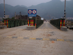Bailey Bridge For Fujian