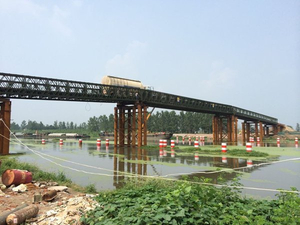 Bailey Bridge For Jiangsu